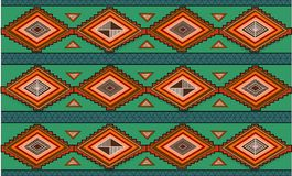 Abstract hand-drawn ethno pattern, tribal background. Pattern Royalty Free Stock Photography