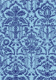 22 Abstract hand-drawn floral pattern Stock Images