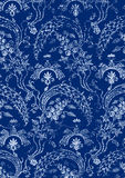 18 Abstract hand-drawn floral seamless pattern Royalty Free Stock Photography