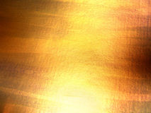 Abstract hand drawn golden background Royalty Free Stock Photography