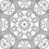 Abstract Hand-drawn Mandala-03 Royalty Free Stock Photo