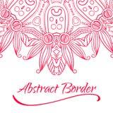 Abstract Hand-drawn Mandala-05 Stock Image