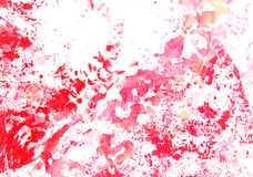Abstract hand drawn painting / graphics Stock Photography