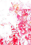 Abstract hand drawn painting / graphics Stock Photo