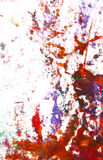 Abstract hand drawn painting / graphics Stock Photos