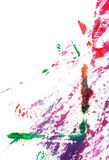 Abstract hand drawn painting / graphics Stock Image
