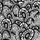 Abstract hand drawn seamless background pattern Stock Photography