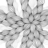 Abstract hand drawn seamless pattern Royalty Free Stock Images