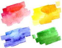 Abstract hand drawn watercolor background Royalty Free Stock Photos
