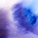 Abstract hand drawn watercolor background Stock Photo