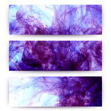 Abstract hand drawn watercolor background. Composition for scrap Stock Photos