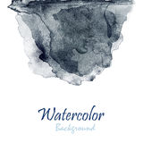 Abstract hand drawn watercolor background, raster illustration i Stock Images