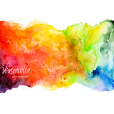 Abstract Hand Drawn Watercolor Background,vector Illustration Stock Photos