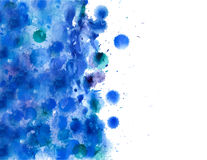 Abstract hand drawn watercolor background,vector illustration. Stock Photos