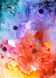 Abstract hand drawn watercolor background,vector illustration Royalty Free Stock Images