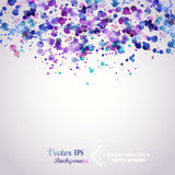 Abstract Hand Drawn Watercolor Background,vector Illustration, S Stock Image
