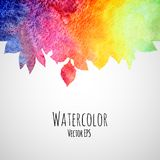 Abstract hand drawn watercolor texture background Royalty Free Stock Photo