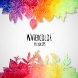 Abstract hand drawn watercolor texture background Royalty Free Stock Photos