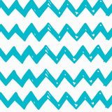 Abstract hand-drawn wave patterns. Stock Photography
