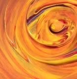 Abstract hand geschilderd art. Royalty-vrije Illustratie