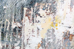 Abstract hand geschilderd grunge canvas met expressieve borstelslag Stock Foto's