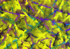 Abstract hand geschilderd patroon Royalty-vrije Stock Foto