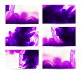 Abstract hand getrokken kaartenontwerp. Samenstelling voor plakboek elem Royalty-vrije Stock Afbeelding