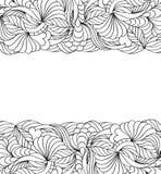 Abstract hand getrokken patroon vector illustratie