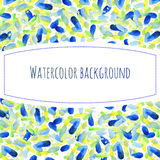 Abstract hand paint watercolor background,vector Stock Photos
