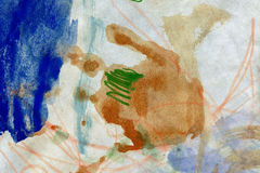 Abstract hand painted arts background Royalty Free Stock Image