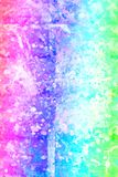 Abstract artistic background with splashes of paint. Abstract, hand painted colorful wooden background stock photo