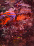 Abstract hand painted mixed media background Stock Image