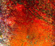 Abstract hand painted mixed media background Royalty Free Stock Photography