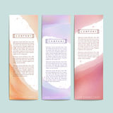 Abstract hand painted watercolor background for banners Royalty Free Stock Photos