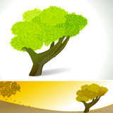 Abstract HAND Tree - Vector Background Banner Stock Photography