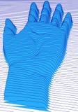 Abstract hand, vector Royalty Free Stock Photos