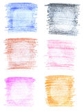 Abstract crayon backgrounds Stock Photo