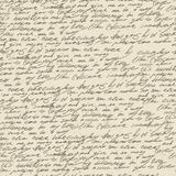 Abstract handwriting. Seamless pattern Stock Photography