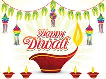 Abstract happy diwali background. Vector illustration vector illustration
