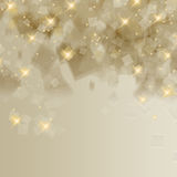 Abstract Happy Holidays Background Stock Photography