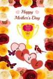 Abstract: Happy Mothers Day Stock Images