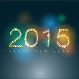 Abstract of Happy New Year 2015. Vector background. Vector Illustration, EPS 10 stock illustration