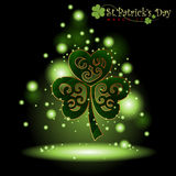 Abstract Happy St.Patrick Day. Royalty Free Stock Images