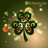 Abstract Happy St.Patrick Day. Stock Images
