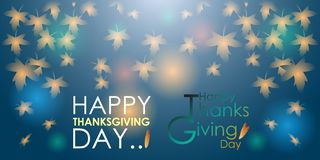 Abstract of Happy Thanksgiving Day vector illustration