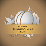 Abstract of Happy Thanksgiving Day. Royalty Free Stock Images