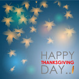 Abstract of Happy Thanksgiving Day. Royalty Free Stock Photography