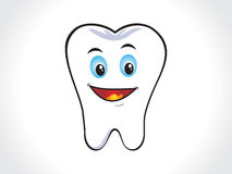 Abstract happy tooth Royalty Free Stock Photography