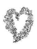 Abstract hart Stock Afbeelding