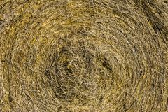 Abstract of hay bale for background or wallpaper III Royalty Free Stock Image